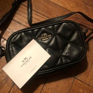 JUST IN 🔥 NWOT QUILTED COACH CROSSBODY BAG